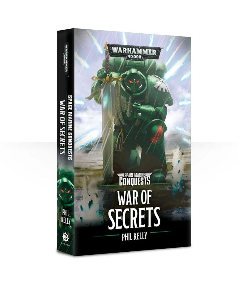 Games Workshop - GAW Black Library - Warhammer 40K - Space Marine Conquests - War of Secrets