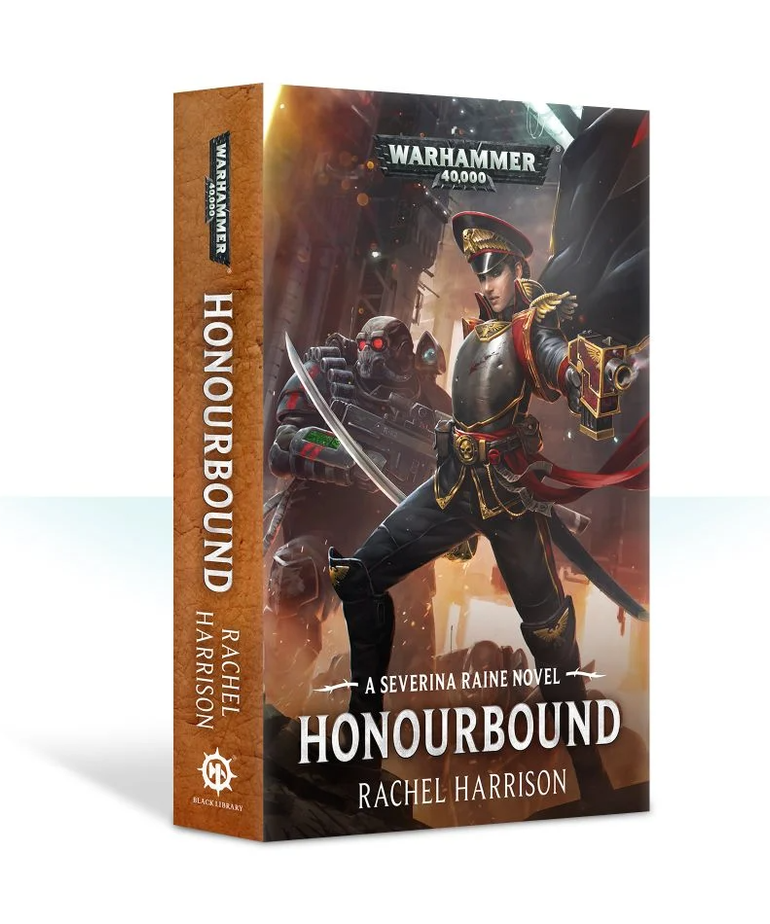 Games Workshop - GAW Black Library - Warhammer 40K - Severina Raine - Honourbound