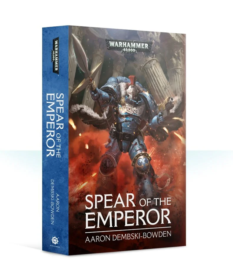 Games Workshop - GAW Black Library - Warhammer 40K - Spear of the Emperor