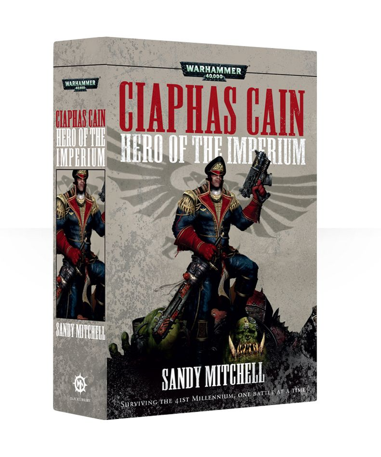 Games Workshop - GAW Black Library - Warhammer 40K - Ciaphas Cain Omnibus 1 - Hero of the Imperium