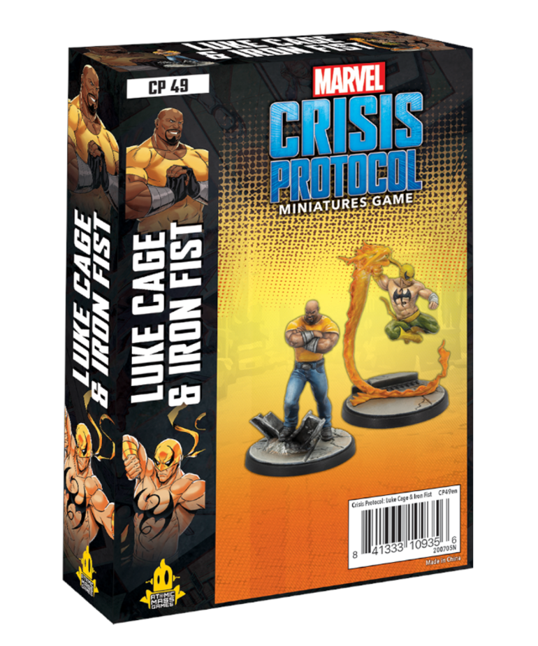 Atomic Mass Games - AMG PRESALE Marvel: Crisis Protocol - Luke Cage & Iron Fist - Character Pack - 06/11/2021