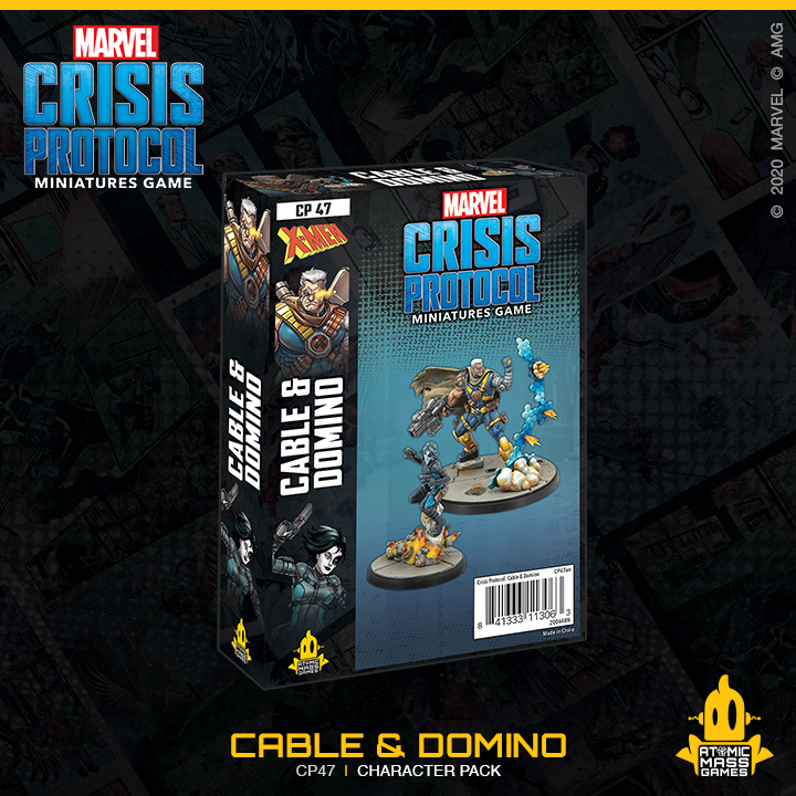 May presales for Marvel: Crisis Protocol!
