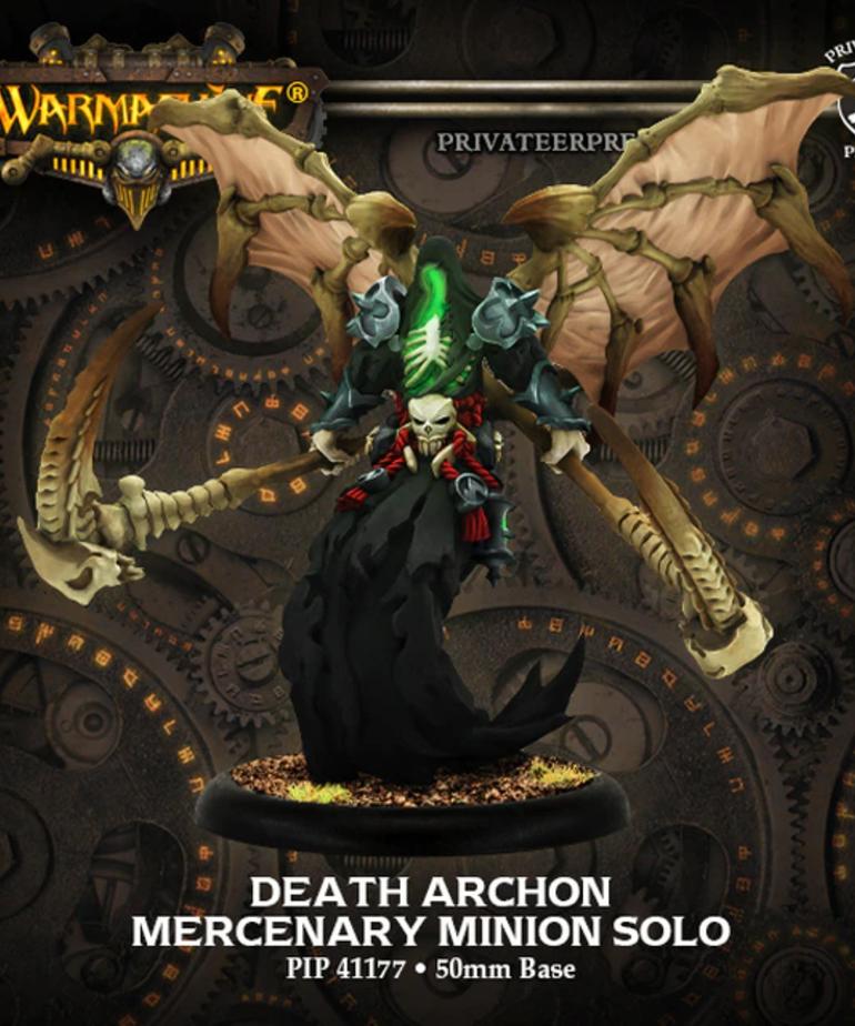 Privateer Press - PIP Warmachine - Mercenaries - Death Archon - Minion Solo