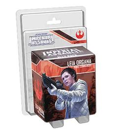 Fantasy Flight Games - FFG Leia Organa, Rebel Commander - Ally Pack