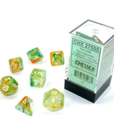 Chessex - CHX Nebula Luminary - Spring w/ White