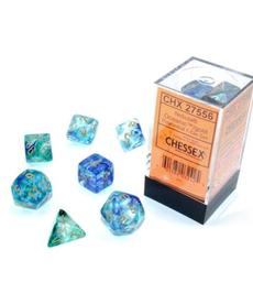 Chessex - CHX Nebula Luminary - Oceanic w/ Gold