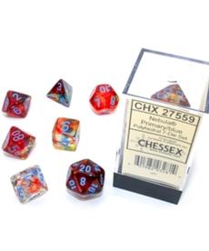 Chessex - CHX Nebula Luminary - Primary w/ Turquoise
