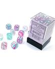 Chessex - CHX Chessex - 12mm Dice Block - Nebula Luminary - Wistera w/ White