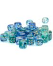 Chessex - CHX Chessex - 12mm Dice Block - Nebula Luminary - Oceanic w/ Gold