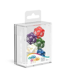 D20 Spindown - Marble