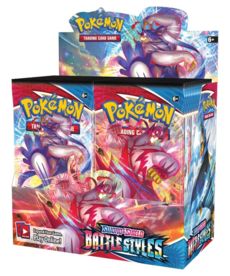 The Pokemon Company International - PKU Pokemon: Sword & Shield Battle Styles (36) Booster Display