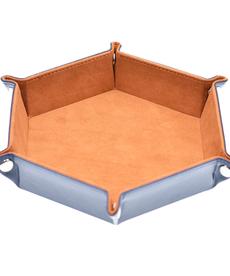 Udixi Dice - UDI Folding: Hexagon - Camel Velvet