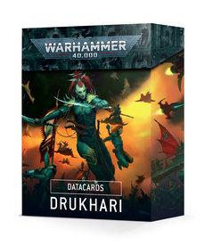 Games Workshop - GAW Datacards - Drukhari