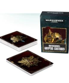 Games Workshop - GAW Datacards - Adeptus Custodes