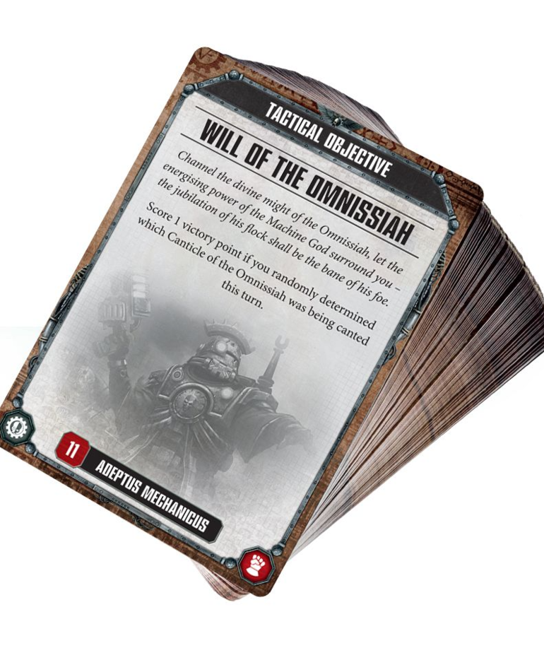 Games Workshop - GAW Warhammer 40K - Datacards - Adeptus Mechanicus