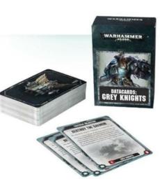 Games Workshop - GAW Data Cards - Grey Knights