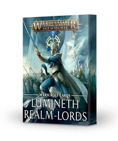 Games Workshop - GAW Warscroll Cards: Lumineth Realm-Lords
