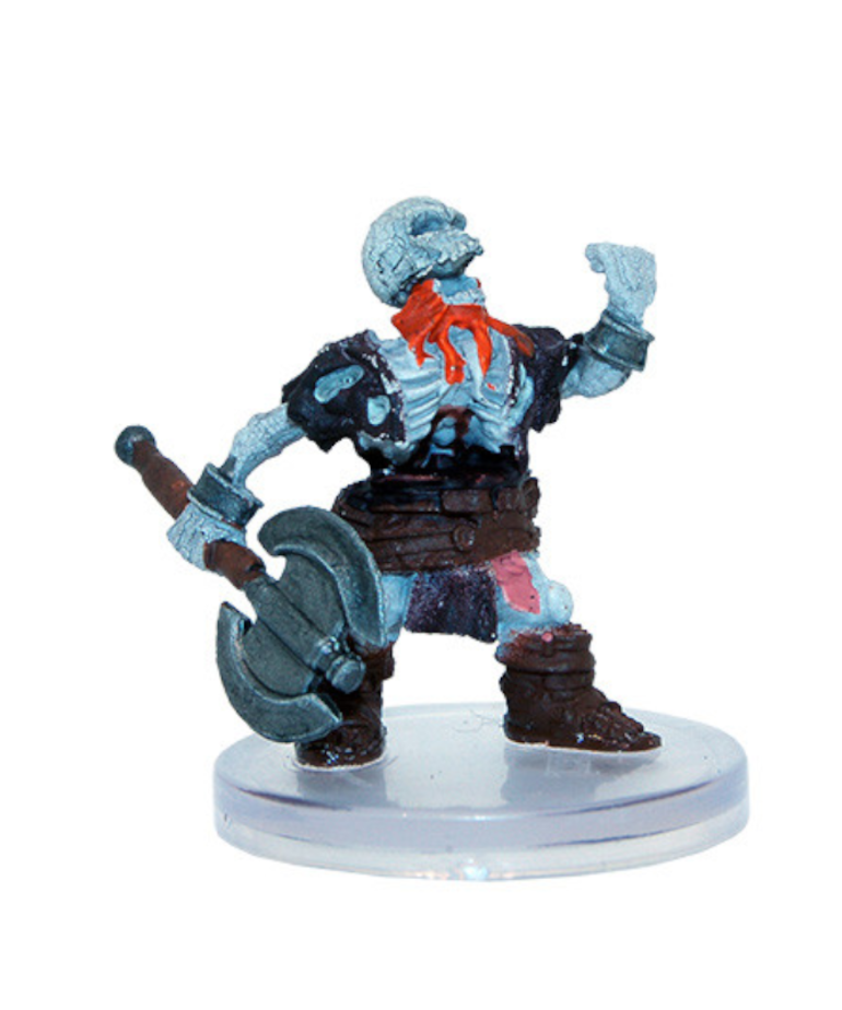 WizKids - WZK D&D: Icons of the Realms - Boneyard - Dwarf Skeleton (U) #15