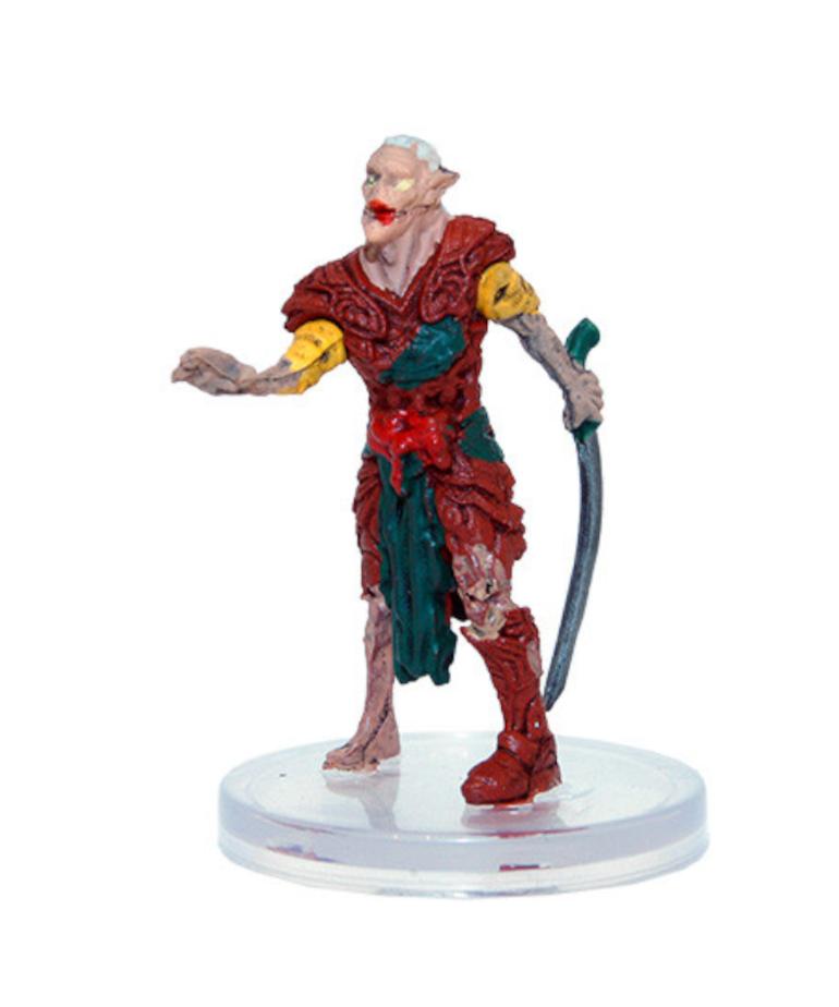 WizKids - WZK D&D: Icons of the Realms - Boneyard - Elf Zombie (U) #14