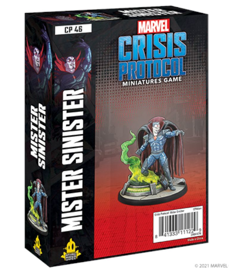 Atomic Mass Games - AMG PRESALE Marvel: Crisis Protocol - Mr. Sinister - Character Pack - 05/14/2021