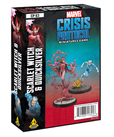 Atomic Mass Games - AMG Scarlet Witch & Quicksilver PRESALE 05/14/2021