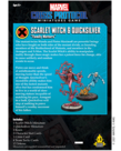 Atomic Mass Games - AMG Marvel: Crisis Protocol - Scarlet Witch & Quicksilver - Character Pack