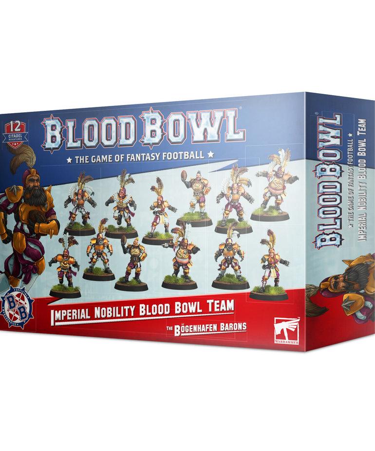 Games Workshop - GAW Blood Bowl - Imperial Nobility Team - The Bogenhafen Barons