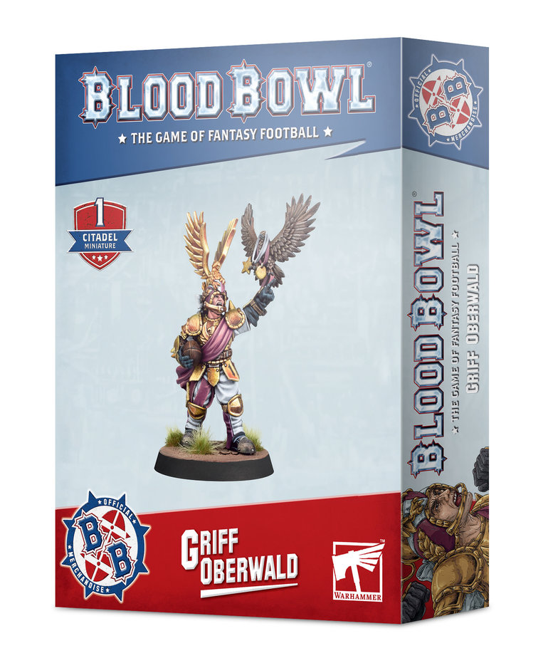 Games Workshop - GAW Blood Bowl - Griff Oberwald - Star Player