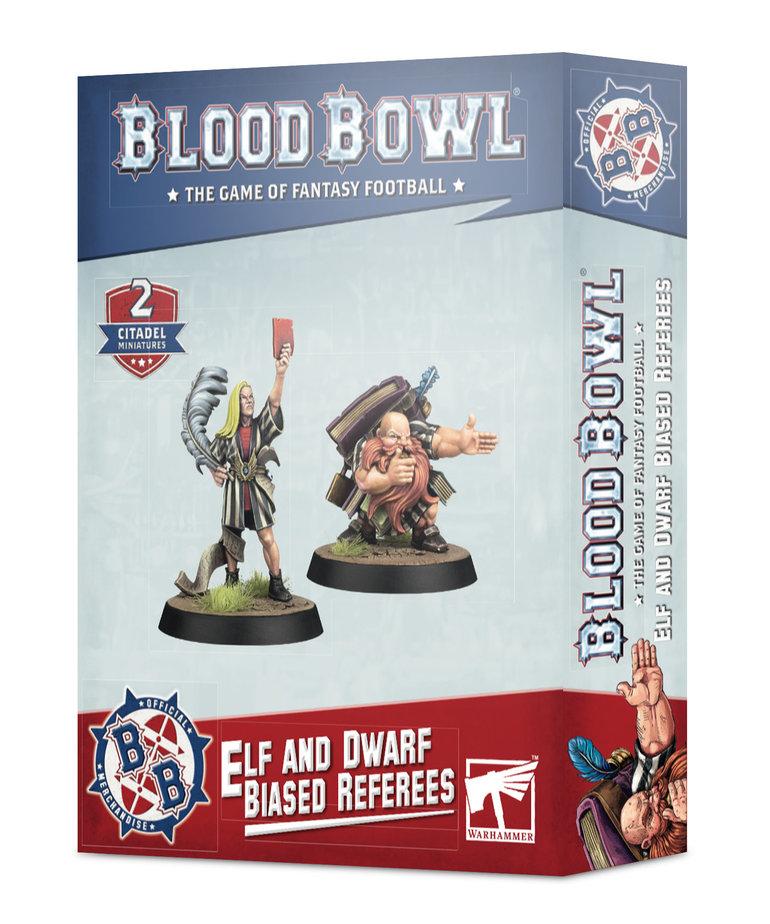 Games Workshop - GAW Blood Bowl - Elf & Dwarf Biased Referees