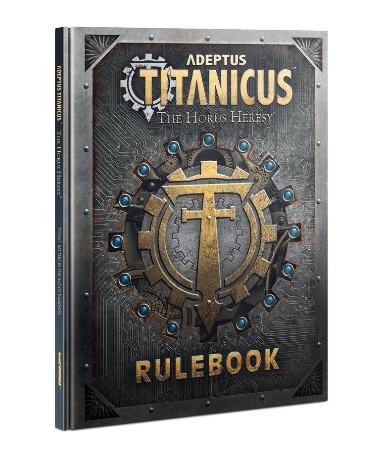 Games Workshop - GAW PRESALE Adeptus Titanicus - Rulebook - 04/17/2021