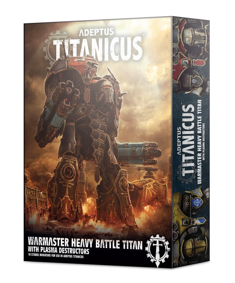 Games Workshop - GAW Adeptus Titanicus - Warmaster Heavy Battle Titan with Plasma Destructors