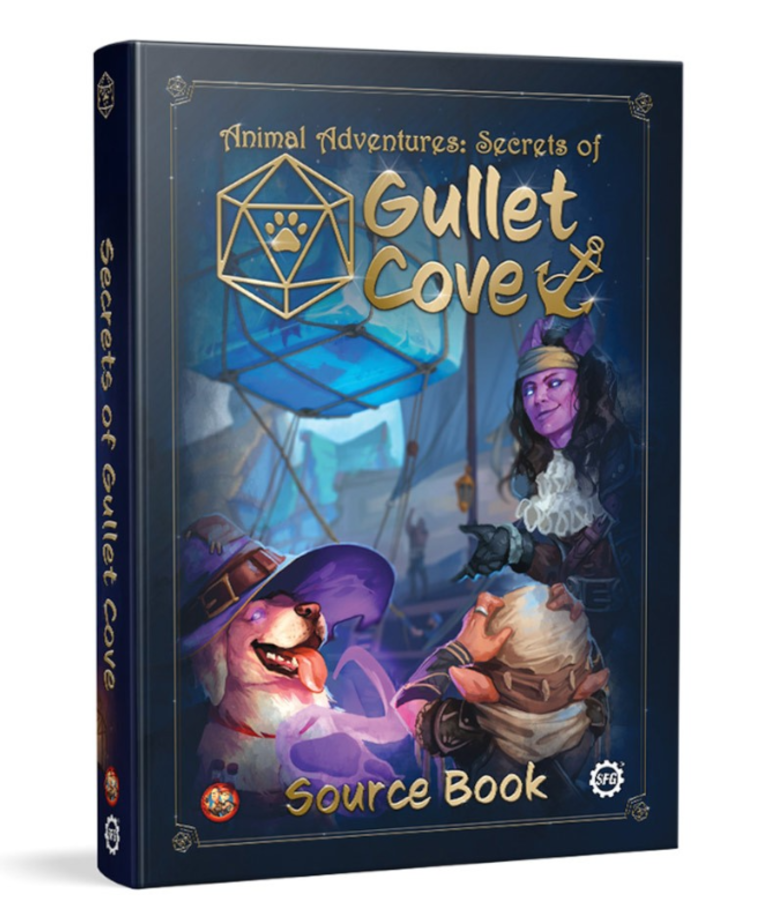 Steamforged Games LTD - STE Animal Adventures: Secrets of Gullet Cove - Source Book