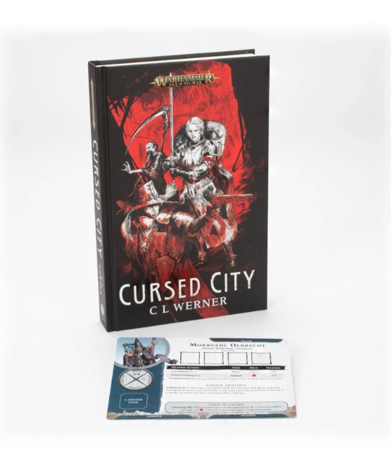 Games Workshop - GAW Black Library - Warhammer: Age of Sigmar - Cursed City