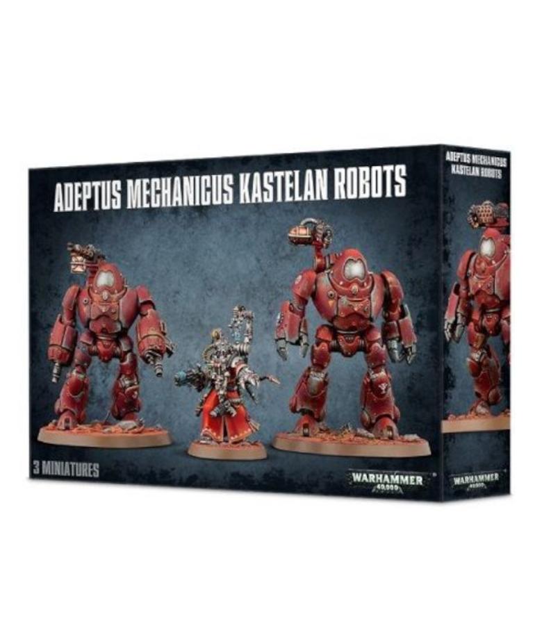 Games Workshop - GAW Warhammer 40K - Adeptus Mechanicus - Kastelan Robots