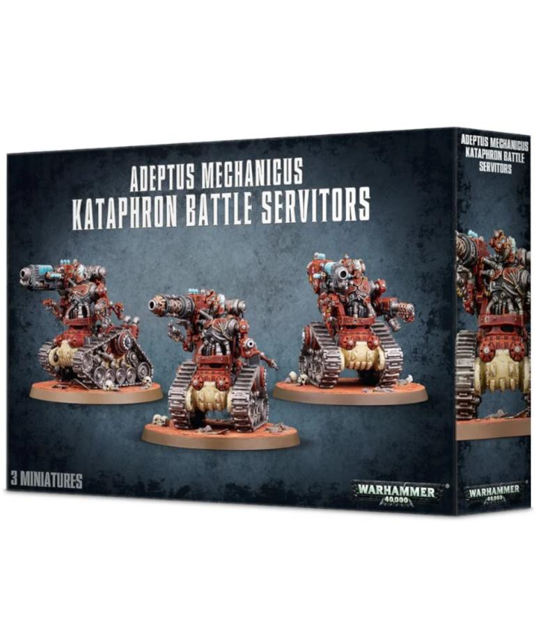 Games Workshop - GAW Warhammer 40K - Adeptus Mechanicus - Kataphron Battle Servitors