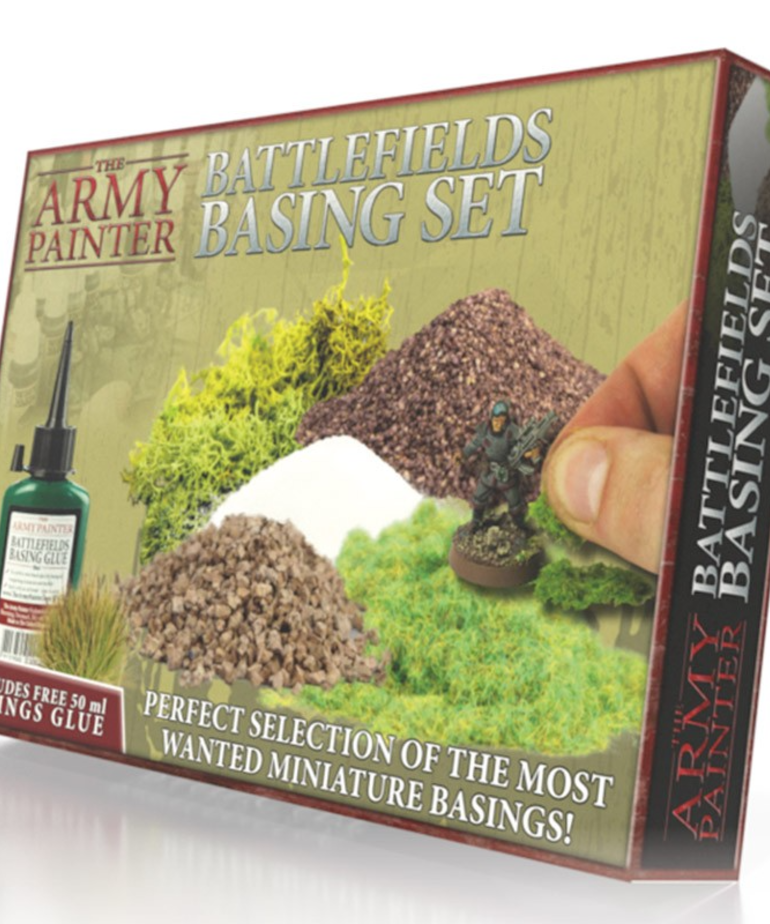 The Army Painter - AMY The Army Painter - Battlefields Basing Set