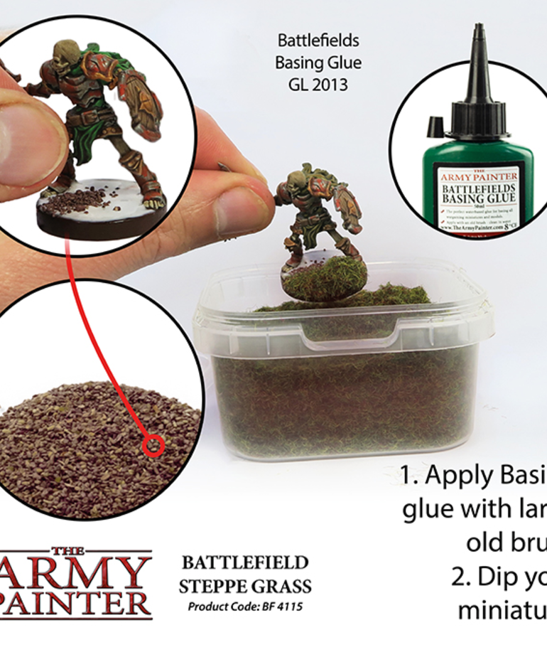 The Army Painter - AMY The Army Painter - Battlefield Steppe Grass
