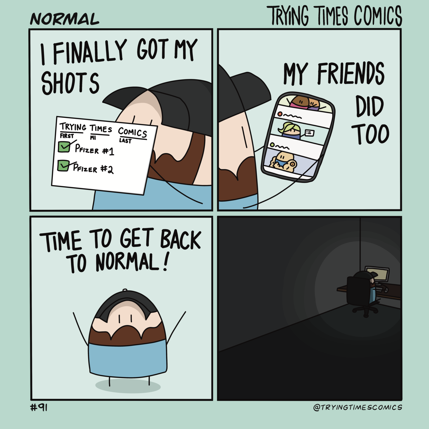 A Trying Times Comic