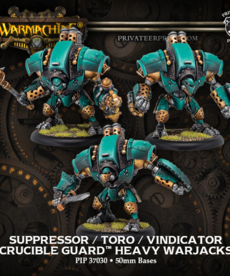 Privateer Press - PIP Crucible Guard - Toro / Suppressor / Vindicator