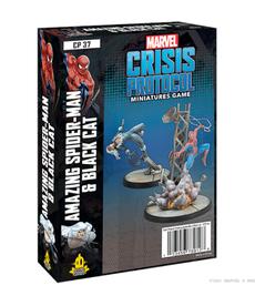 Atomic Mass Games - AMG Amazing Spider-Man & Black Cat