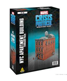 Atomic Mass Games - AMG NYC Apartment Building Terrain PRESALE 06/25/2021