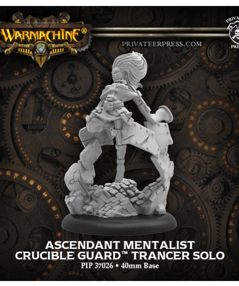 Privateer Press - PIP Warmachine - Crucible Guard - Ascendant Mentalist - Trancer Solo