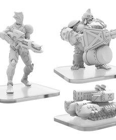 Privateer Press - PIP G-Tank, C-Type Shinobi, & Ape Gunner PRESALE 08/00/2021