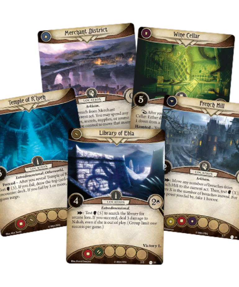 Fantasy Flight Games - FFG Arkham Horror: The Card Game - Return to the Circle Undone - Expansion