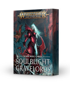 Games Workshop - GAW Warscroll Cards: Soulblight Gravelords