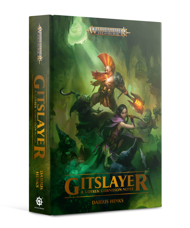 Games Workshop - GAW Black Library - Gotrek Gurnisson - Gitslayer