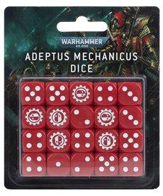 Games Workshop - GAW Dice Set - Adeptus Mechanicus