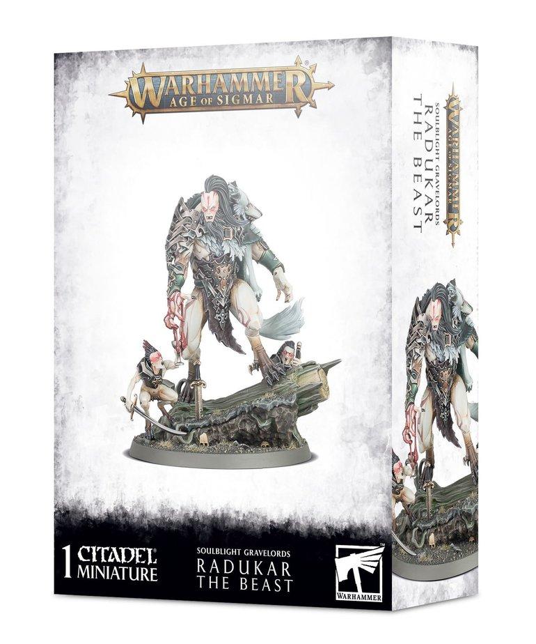 Games Workshop - GAW Warhammer: Age of Sigmar - Soulblight Gravelords - Radukar the Beast
