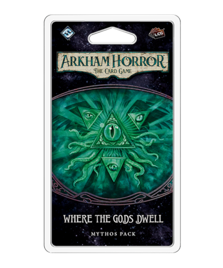 Asmodee - ASM Arkham Horror: The Card Game - Where the Gods Dwell - Mythos Pack