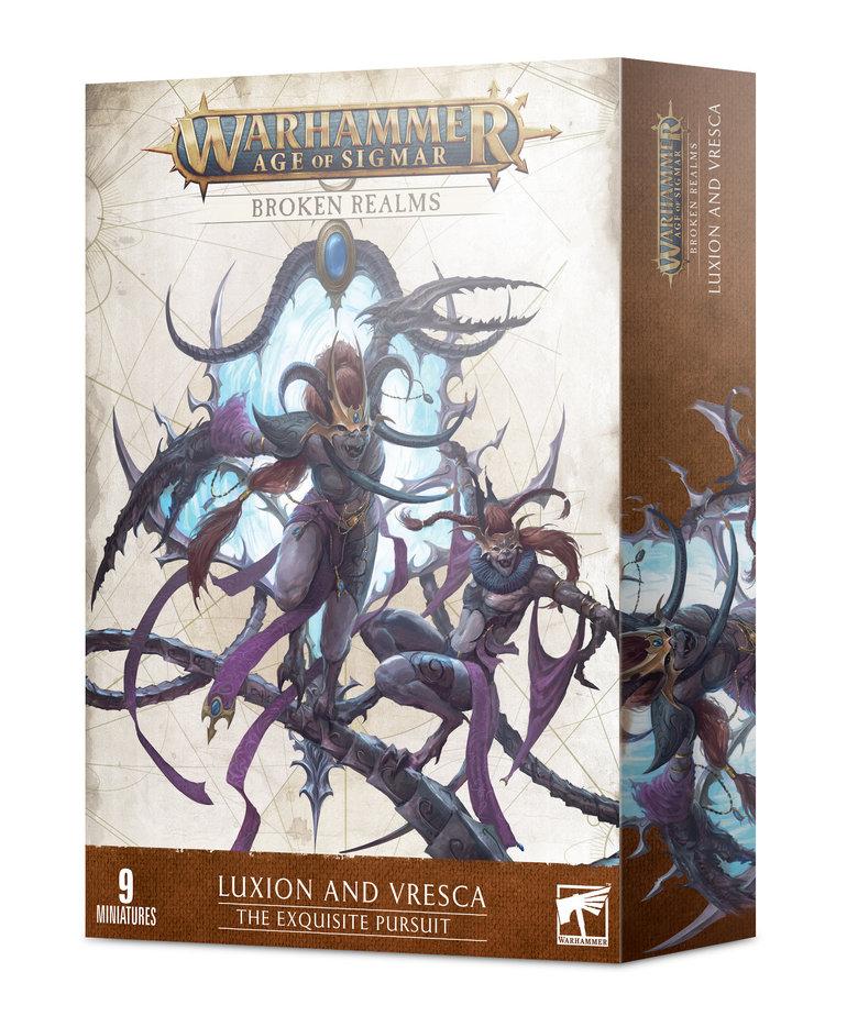Games Workshop - GAW Warhammer: Age of Sigmar - Broken Realms - Luxion & Vresca - The Exquisite Pursuit